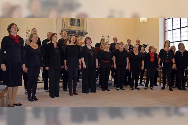 Zum Finale singen die Zuhörer mit