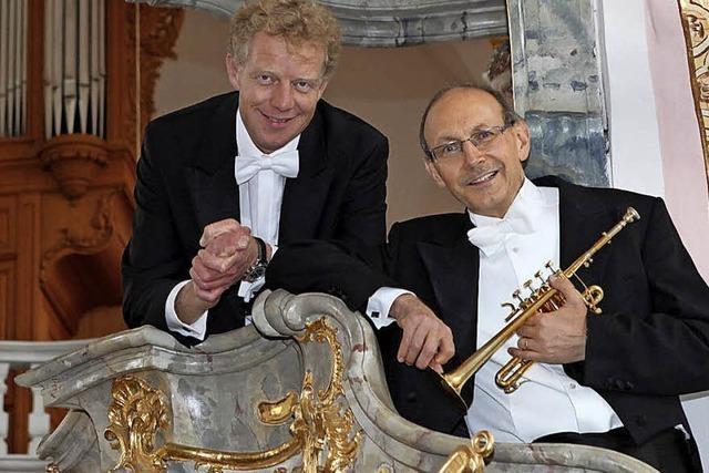 Konzert an der Silbermannorgel in Ettenheimmünster