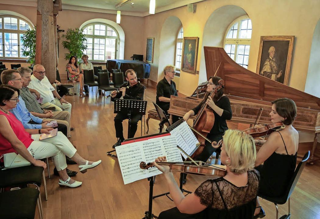 Musik der Avantgarde des 18. Jahrhunde...bourg zum Abschluss des Musiksommers.     Foto: Sandra Decoux-Kone