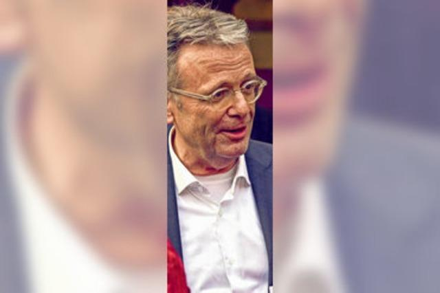 Rüdiger Nolte, Freiburgs Musikhochschulrektor, geht in Pension