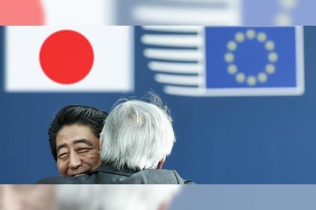 Japan und die EU vereinbaren Grundzüge eines Freihandelsabkommens