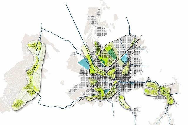 Planer definieren Raum für 7000 neue Wohnungen in Freiburg