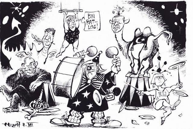 Willkommen im G-20-Zirkus