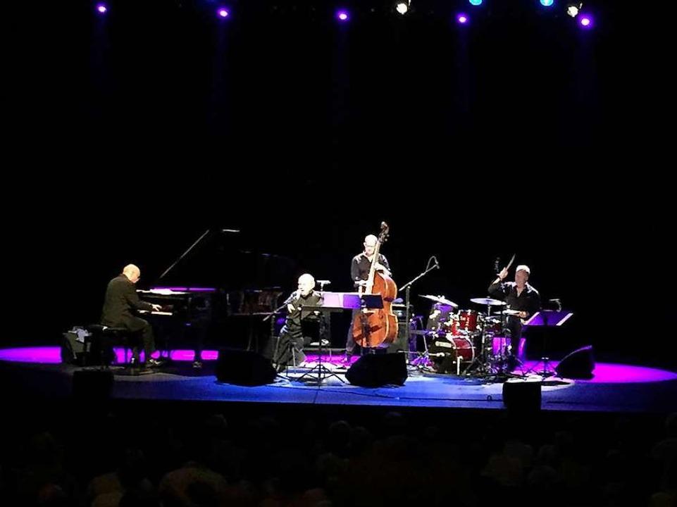 Das Quartett auf der Bühne  | Foto: Dorothee Soboll