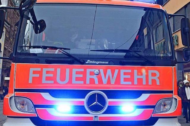 Angebranntes Essen und Gasalarm: Freiburger Feuerwehr im Dauerstress