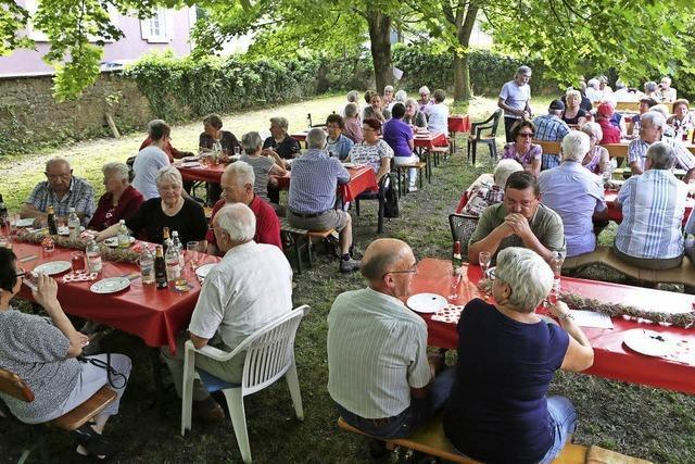 Sommerfest der Generationen-Gemeinschaft
