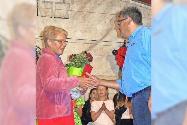 Mit Margot Utz eine langjährige Stütze geehrt