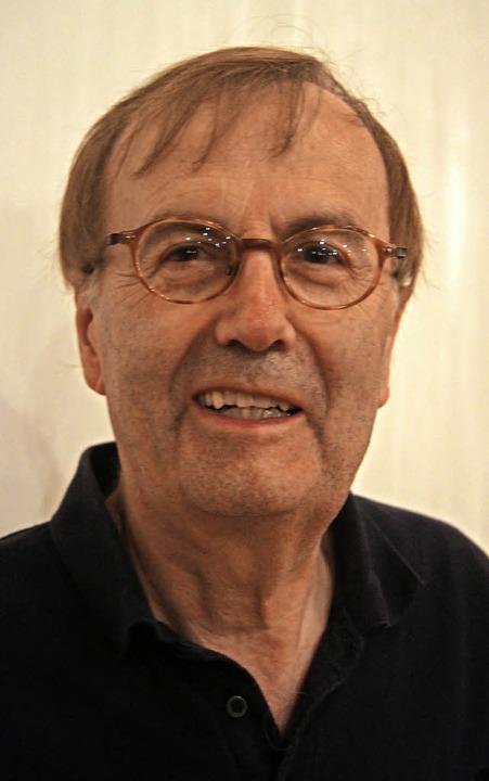 Gottlieb Brunner, ein Kenner des Lebens und Wirkens von Johann Peter Hebel    Foto: Roland Gutjahr