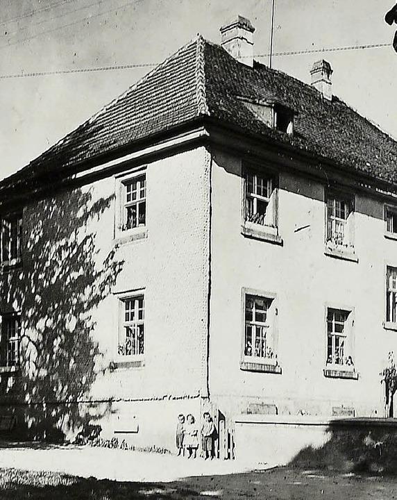 Das alte Schulhaus in St. Märgen     Foto: Leo Hog
