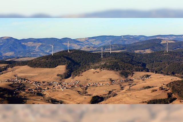 Der höchste Windpark Deutschlands wird in Gersbach eröffnet