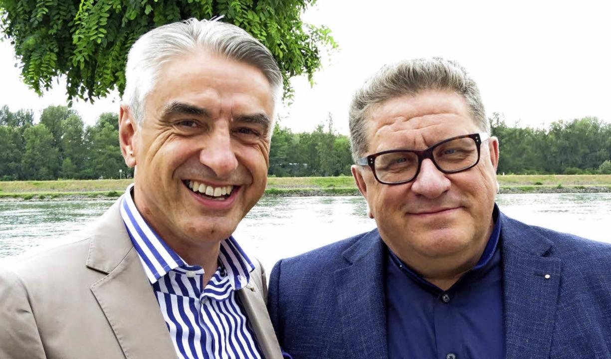 Dr. Detlev Draws (rechts) ist neuer Pr... damit Nachfolger von Georg Selinger.   | Foto: privat