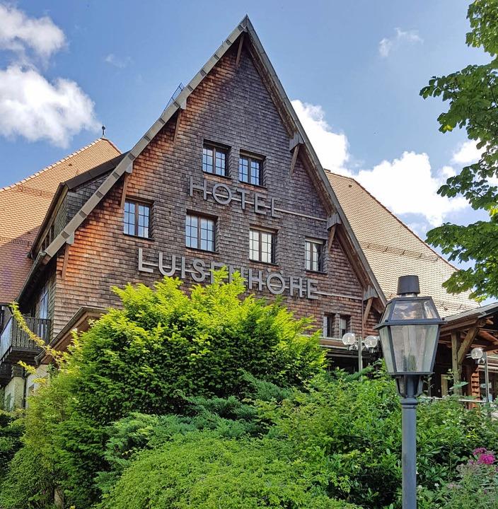 Noch steht das Hotel Luisenhöhe.  | Foto: Michael Bamberger/Petra Kistler