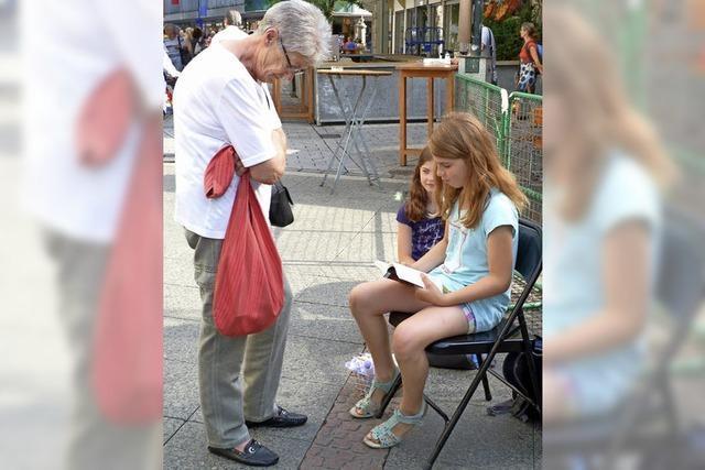 Kinder lesen am Donnerstag in Lörrach vor