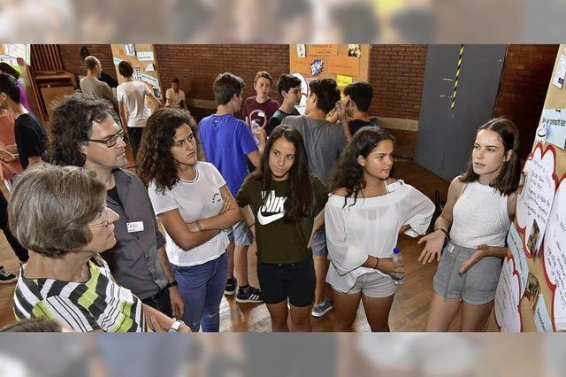 Schüler des 8er-Rats stellen Wunschprojekte für Kommunalpolitik vor