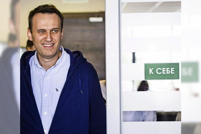 Oppositionspolitiker Alexej Nawalny führt ungleichen Kampf