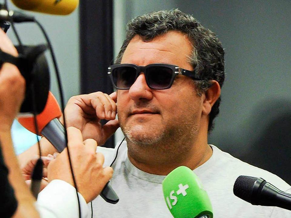Erfolgreich und skrupellos: Mino Raiol...it den Topstars der Branche viel Geld.    Foto: dpa