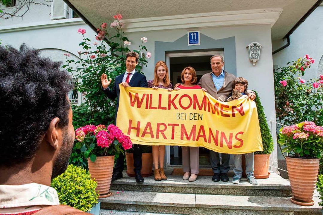 """Nicht ganz so viel Spaß wie im Kino: F...;Willkommen bei  den  Hartmanns""""    Foto: Warner Bros. Ent."""