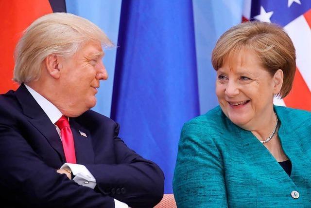 G20 findet Handelskompromiss, Scholz wegen Krawallen unter Druck