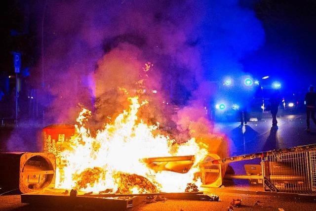 G20-Proteste: Dritte Nacht mit Gewalt in Hamburg