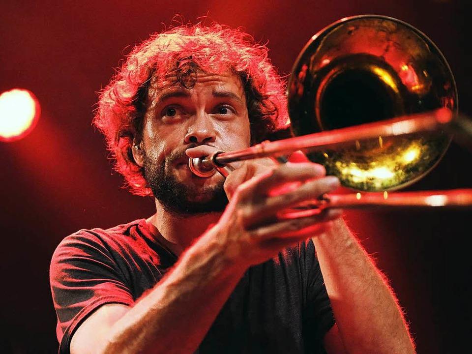 Konzert von La Brass Banda auf dem ZMF  | Foto: Miroslav Dakov