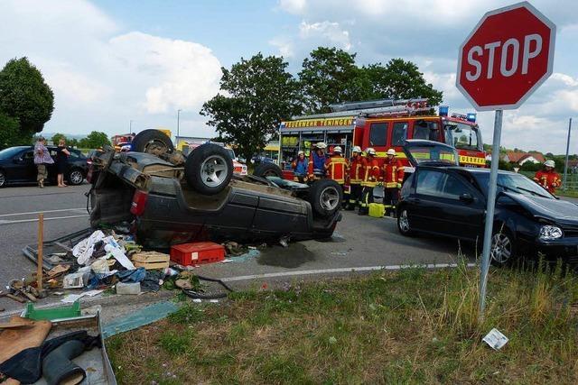 Schwerer Unfall bei Nimburg