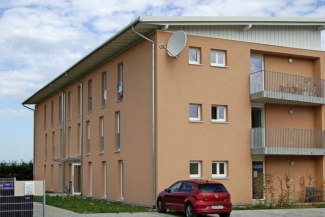 Wohnraum für 54 Flüchtlinge