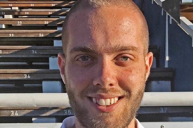 David Müller wird neuer FSJ-ler beim SV Weil