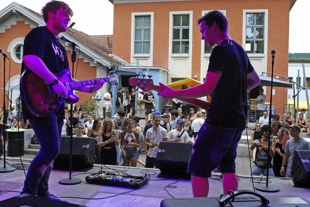 Regionale Bands überzeugten vor dem Alten Wasserwerk in Lörrach
