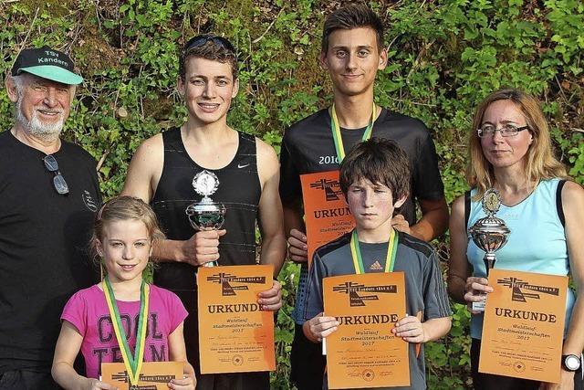 TSV kürt die schnellsten Waldläufer
