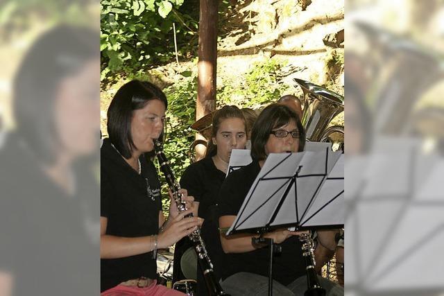 Musikverein lädt zum Ständchen