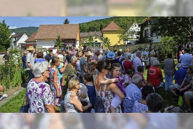 Bürger freuen sich über neue Ortsmitte