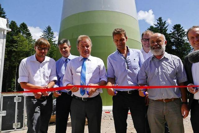 Deutschlands höchstgelegener Windpark ist eröffnet