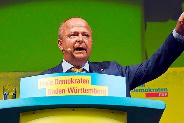 Michael Theurer bleibt FDP-Landesvorsitzender