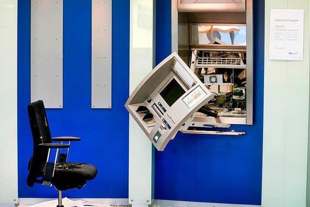 Polizei fasst Bande mutmaßlicher Geldautomaten-Knacker