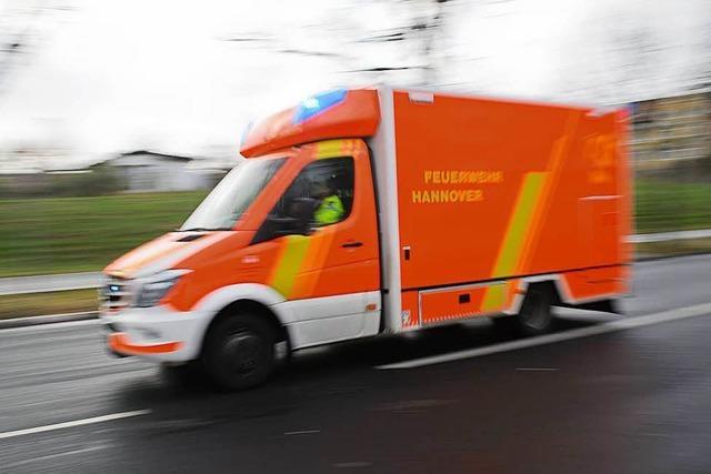 Unfall bei Hausen fordert zwei Verletzte
