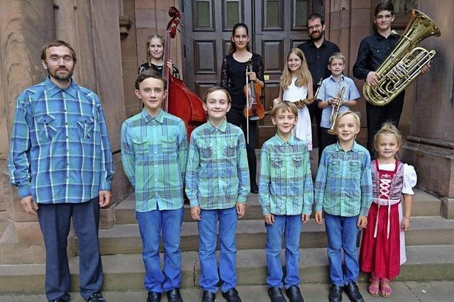 Familie Kraft und Familie Eichenhorn in Stühlingen
