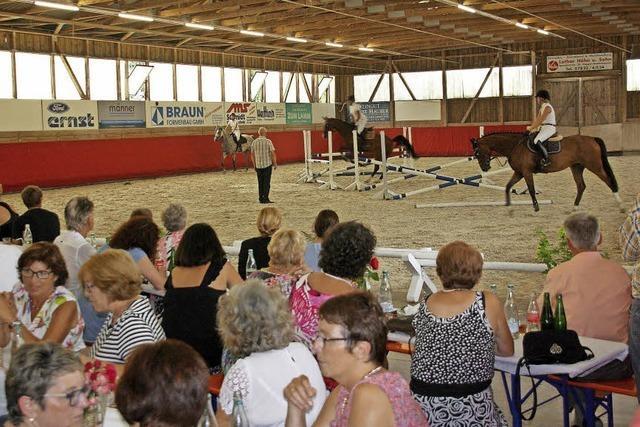 Spannender Pferdesport und Musik