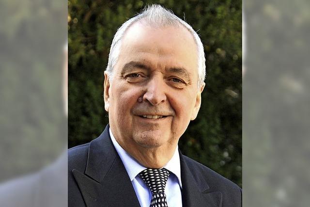 Umweltpolitiker Klaus Töpfer diskutiert in Lörrach über