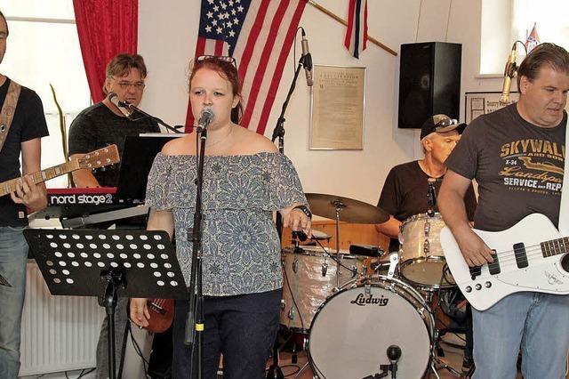Konzert im Country-Western-Club