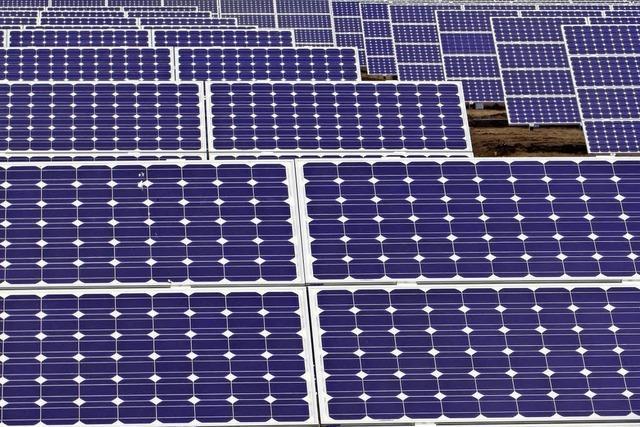 Stadtwerke beteiligen sich an zwei Solarparks