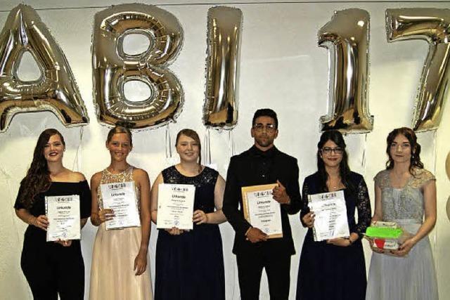Sechs Schüler wurden als Preisträger geehrt