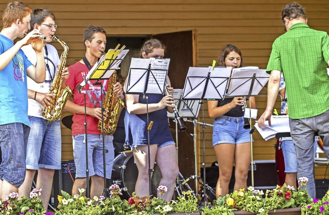 Die Band des Kreisgymnasiums    | Foto: Martin hannig