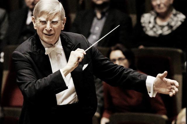 """Dirigent Herbert Blomstedt: """"Dankbarkeit ist die beste Medizin"""""""