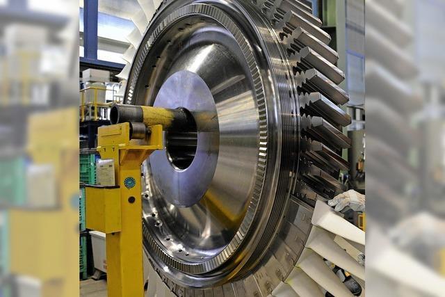 Siemens-Gasturbinen tauchen auf der Krim auf