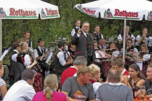 Musik ist Trumpf beim Rothauser Waldfest