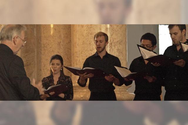 The Oxford Voices in St. Blasien