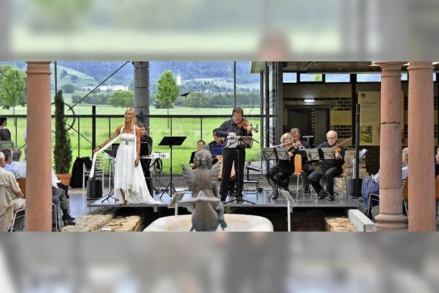 Akkordeon und Gesang in Heitersheim