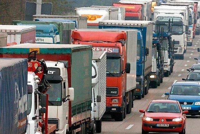 Polizei rechnet mit Staus an der deutsch-französischen Grenze