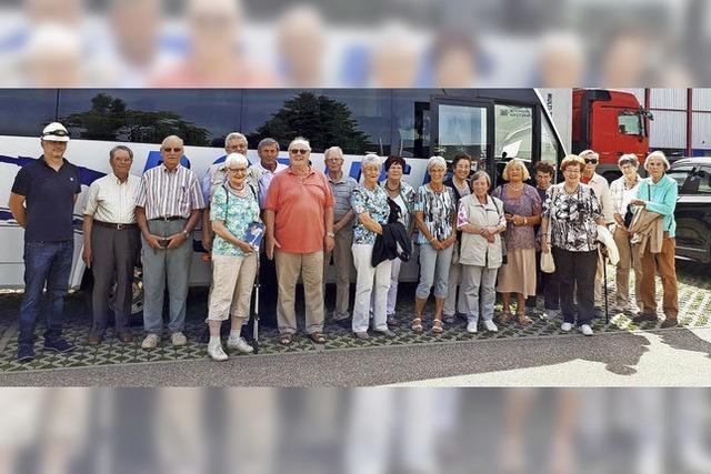 Tour im Markgräfler Land