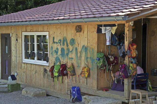 Vandalismus in Britzingen